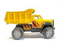 VINTAGE TONKA Yellow Earth-Mover Dump Truck No 1355, G.V.W. 33,001, 1985