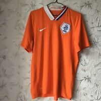 Netherlands Home football shirt 2008 - 2010 Nike Soccer Jersey Size L