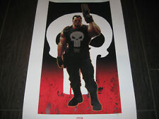 PUNISHER Justice Sideshow Premium Art Print Lithograph #92 SIGNED Ariel Olivetti