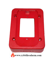 SYSTEM SENSOR BBS RED BACK BOX SKIRT, FREE SHIPPING THE SAME BUSINESS DAY