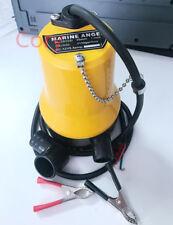 Mini Submersible Pump Immersible pump Bilge Water  Pump Outdoor DC 12V 5.4A 50W