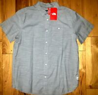 Mens The North Face Short Sleeve Button Up Lifestyle Shirt New NWT $55 Size S