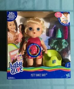 Baby Alive Potty Dance Baby Blonde Hair Doll 67312