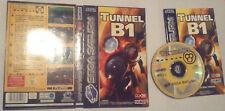 Video Gioco Retro Game Sega Saturn Pal Box Complete Tunnel B1