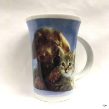 Tasse Hund&Katze Kindertasse Henkeltasse Teetasse außergewöhnliche Geschenkidee