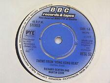 """RICHARD DENTON & MARTIN COOK Hong Kong Beat Ex+ BBC 1978 UK 7"""""""