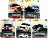 2020 Hot Wheels Car Culture Power Trip T Case Set of 5 Cars NEW