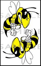 Angry Hornet Stickers, Bike, Car,Laptop,Tool Box,4X4 Decal RC Plane, Tank