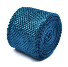 Corbatas, pajaritas y pañuelos de hombre azul liso
