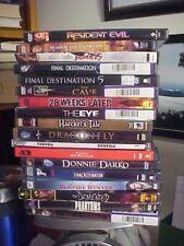 Lot of 19 Horror Movies on Dvd Freddy Vs Jason, Halloween, Dark Shadows #2