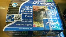 Hozelock Aquaforce 2500 Filter Pump / BRAND NEW.