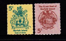 1997 Norfolk Island Booklet Stamps