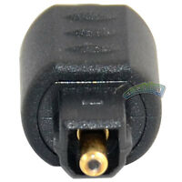 Optical Fiber Audio 3.5mm Mini Female Jack to Digital Toslink Male Plug Adapter