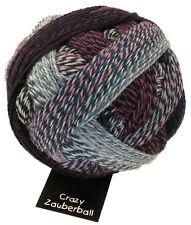 Crazy Zauberball 100g  Schoppel Farbe 1699 Fliederduft  Wolle Sockenwolle