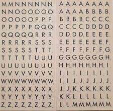 224 Scrabble lettre stickers-Alphabet Tile Carte Autocollant -- lettres majuscules-Neuf