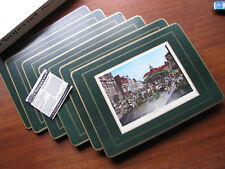 True 60s 70s Vintage 6 Tisch Sets englisch OVP Pimpernel Canterbury Buttermarket