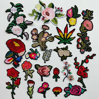 20pcs Sew On Iron On Patch Embroidered Craft Doll Kid Appliques 20Styles Patches
