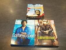 COFFRET DVD SERIE CALIFORNICATION INTEGRALE SAISON 1 A 3 COMPLET SHOWTIME OCCASI