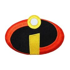 Disney Incredibles Superhero Costume Logo Patch Craft Apparel Iron On Applique