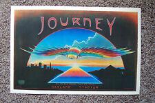 Journey Concert poster 1980 Oakland Stadium