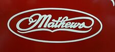 Mathews Archery Sticker Decal - Bow - Hunting