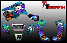 SUZUKI LT50/LT50A/LTZ50/LT80/LTZ90 GRAPHICS STICKERS ATV QUAD