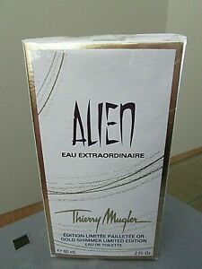 ALIEN Thierry Mugler Eau Extraordinaire Gold Shimmer Limited EDT 2oz 60ml SEALED