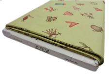 FQ girl fabric cat bike princess elephant flowers hat cotton craft cake green