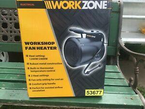 WORKSHOP HEATER COOLER ELECTRIC NEW IN BOX SUIT CARPORT GARAGE PEGOLA