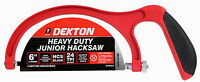 "150MM HEAVY DUTY JUNIOR HACKSAW ALUMINIUM FRAME WITH HCS BLADE 6"" MINI HACK SAW"
