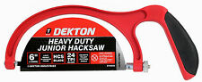 "150mm Heavy Duty Junior Hacksaw TELAIO IN ALLUMINIO CON LAMA HCS 6 ""MINI HACK SEGA"