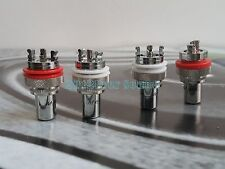 4x HIFI M805 Rhodium Plated RCA Socket Chassis Connector