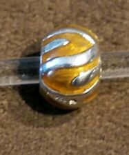AUTHENTIC CHAMILIA SILVER PEAKS OF BRONZE BEAD NWOT  NA- 23A