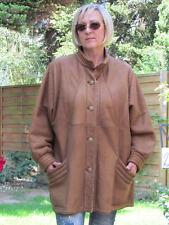 WOMENS XXXL XXXXL Shearling Lambskin Sheepskin Lamb Coat Jacket Ladies D2164