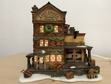 Heritage Village Dickens Village 1997 East Indies Trading Co From Department 56