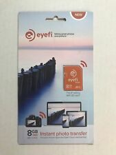 NEW  Eye-Fi Mobi 8GB WiFi SDHC CARD - Eye Fi SD Card 8GB Wi-Fi CLASS 10
