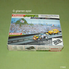 Carrera Servo 140 Nr. 77510 Standardgerade Inhalt 4 Stück in Originalverpackung
