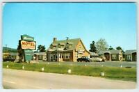 1950's FREDERICK MARYLAND*MD*MASSER'S MOTEL & RESTAURANT*ROUTE 40*OLD CARS