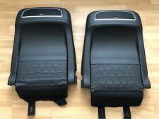 OEM Genuine Range Rover Vogue L405 Black Ebony Leather Front Seat Back Meridian