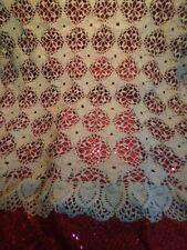 "Vintage crochet tablecloth 30""x30"" Square"