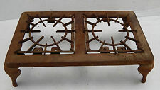 ANTIQUE CAST IRON STANDARD DOUBLE BURNER STOVE TOP, GRILL, CAMPING, WOOD FIRED