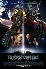 Transformers Last Knight - original DS movie poster - 27x40 D/S FINAL B