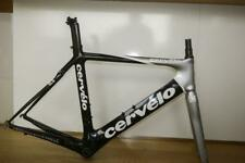 NEAR MINT CERVELO AERO S3 FRAME AND FORKS WITH SEAT POST, SIZE 56