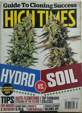 High Times July 2017 Hydro vs Soil Cannabis Marijuana Ludacris FREE SHIPPING sb