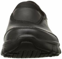 Skechers Womens Sure Track Low Top Pull On Walking Shoes, Black, Size 9.5 kvl1