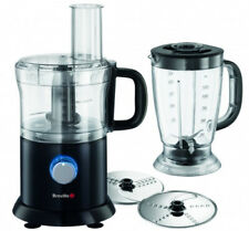 Breville VFP056 Pro-Kitchen Black Food Processor with Ice crushing function