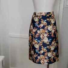 J. CREW NO. 2 PENCIL ANTIQUE FLORAL SZ 12 BRAND NEW WITH TAGS