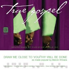 Marvin Winans - Draw Me Close/Thy Will Be Done  - Accompaniment CD