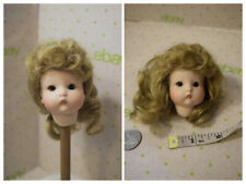 "Vintage Just Me Repair Parts Head for Doll 8"" Doll Aom 310 Germany eyes Blonde"