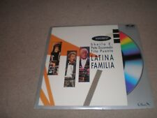 SHEILA E Tito Puente Pete Escovedo LATINA FAMILIA  LASERDISC